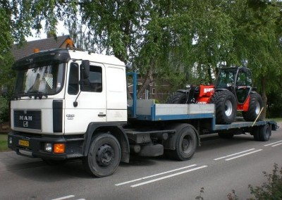 Manitou MLT op transport