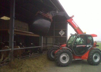Melk en vleesveebedrijf in Lisse kiest weer voor Manitou