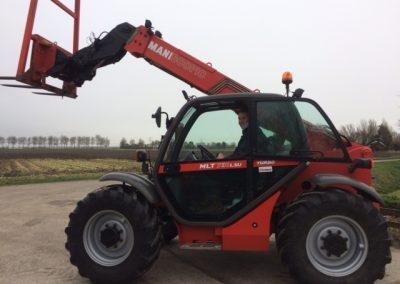 Manitou MLT 731 LSU Turbo afgeleverd in Zwartewaal