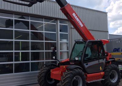 Twee nieuwe Manitou MLT 845-120 st3B verreikers naar Havecon Kassenbouw