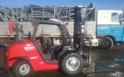 Manitou 'ruwterrein' heftruck afgeleverd in Nieuwkoop