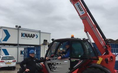 Veelzijdige Manitou MT 932 afgeleverd in Den Haag