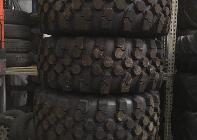 Michelin banden met Manitou velgen